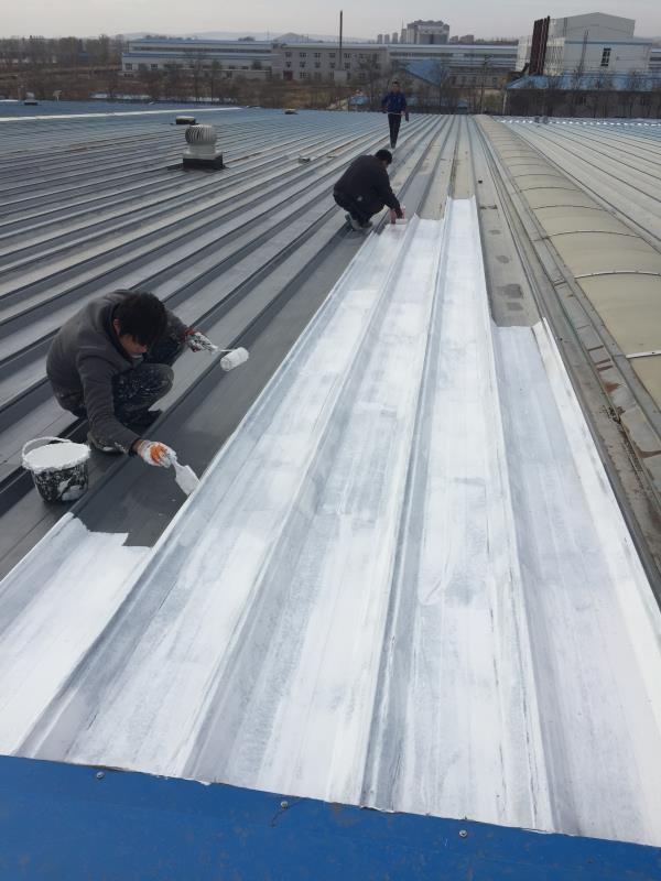 钢结构屋面除锈