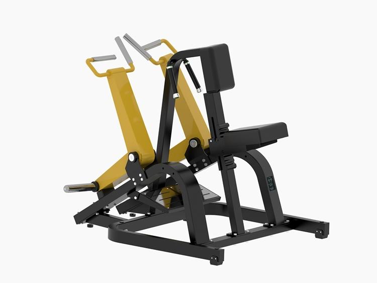 坐式划船健身器
