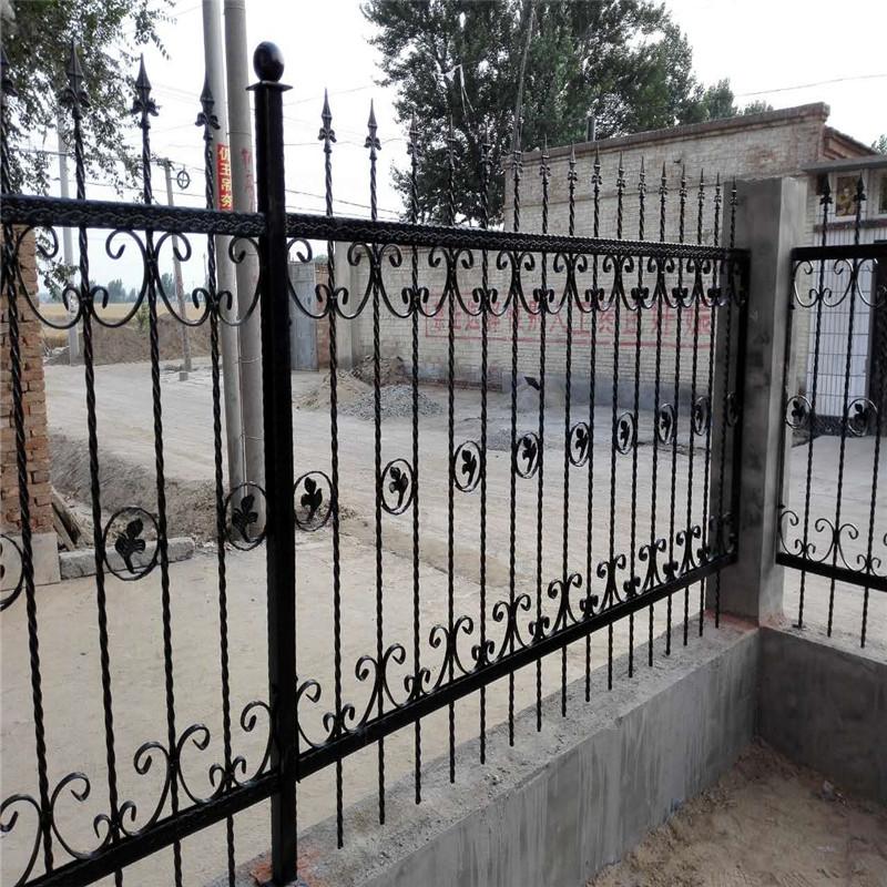 围墙护栏 锌钢铁艺围墙护栏 厂直销别墅庭院厂区护栏