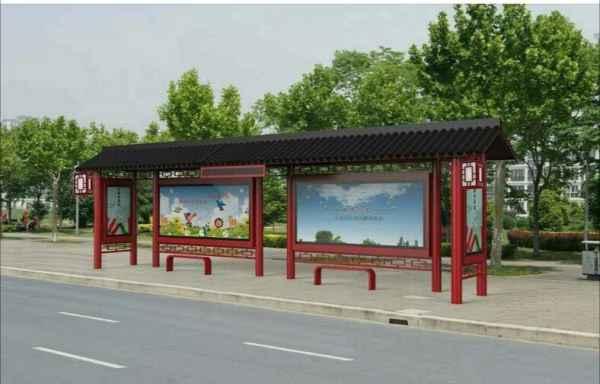 公交候车亭制作安装方案