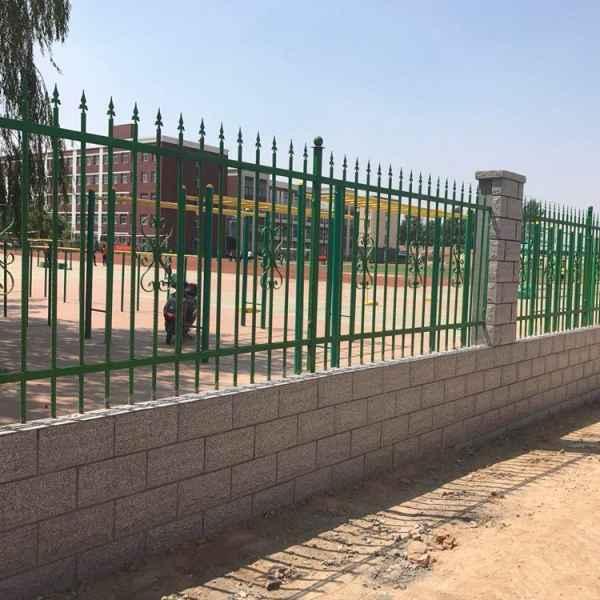 别墅直销锌钢铁艺厂家方案防护栏围墙护栏园流通农村的加工设计货物图片