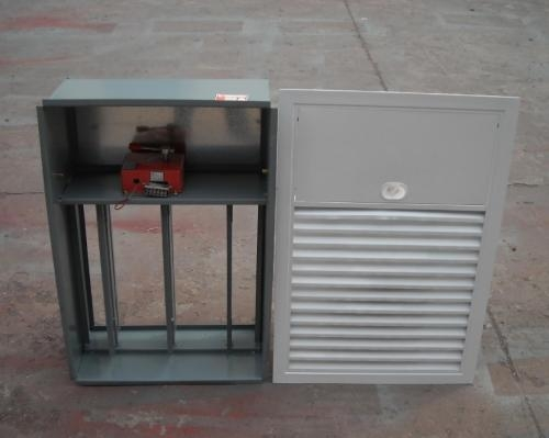 3cccf排烟口 多叶排烟阀 正压送风口280度 70度排烟防火阀