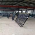 欧式铁艺护栏 定做市政道路铁艺护栏 小区校园安全隔离防护栏厂家