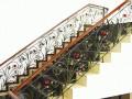 四川铁艺楼梯扶手,铁艺楼梯生产厂家